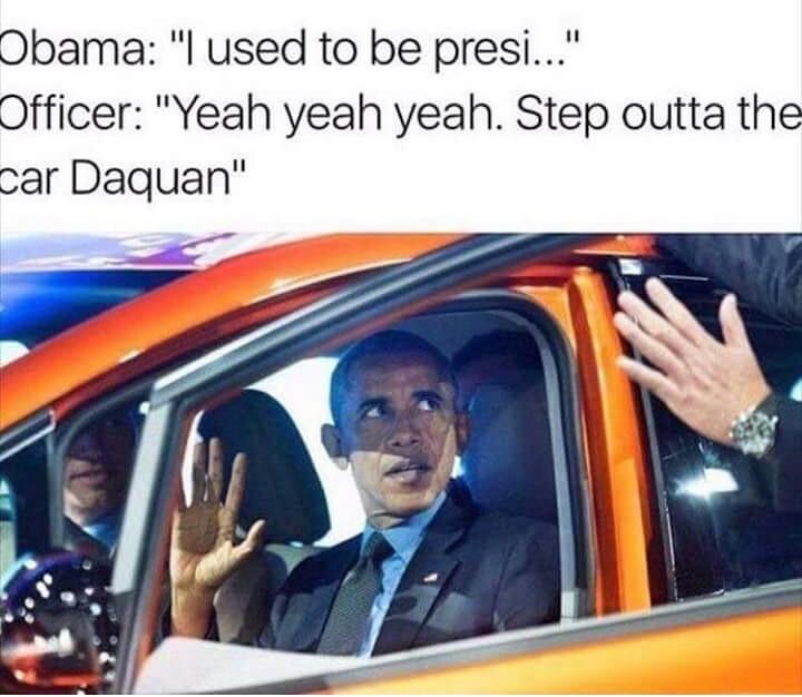 I already miss my man Obama - meme
