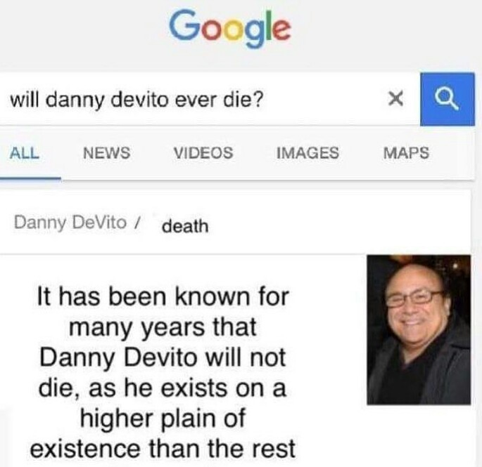 All hail hunchback devito - meme
