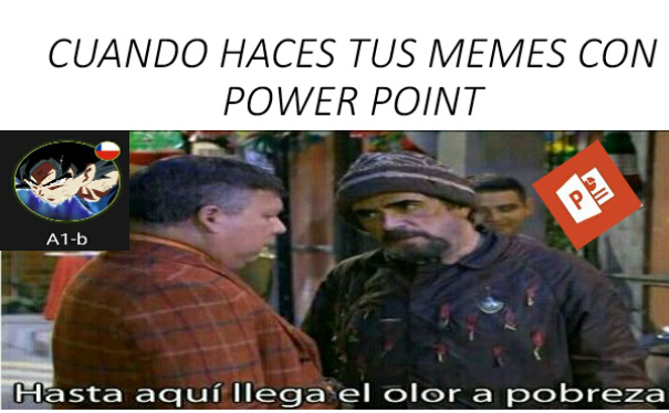 Pobreza - meme