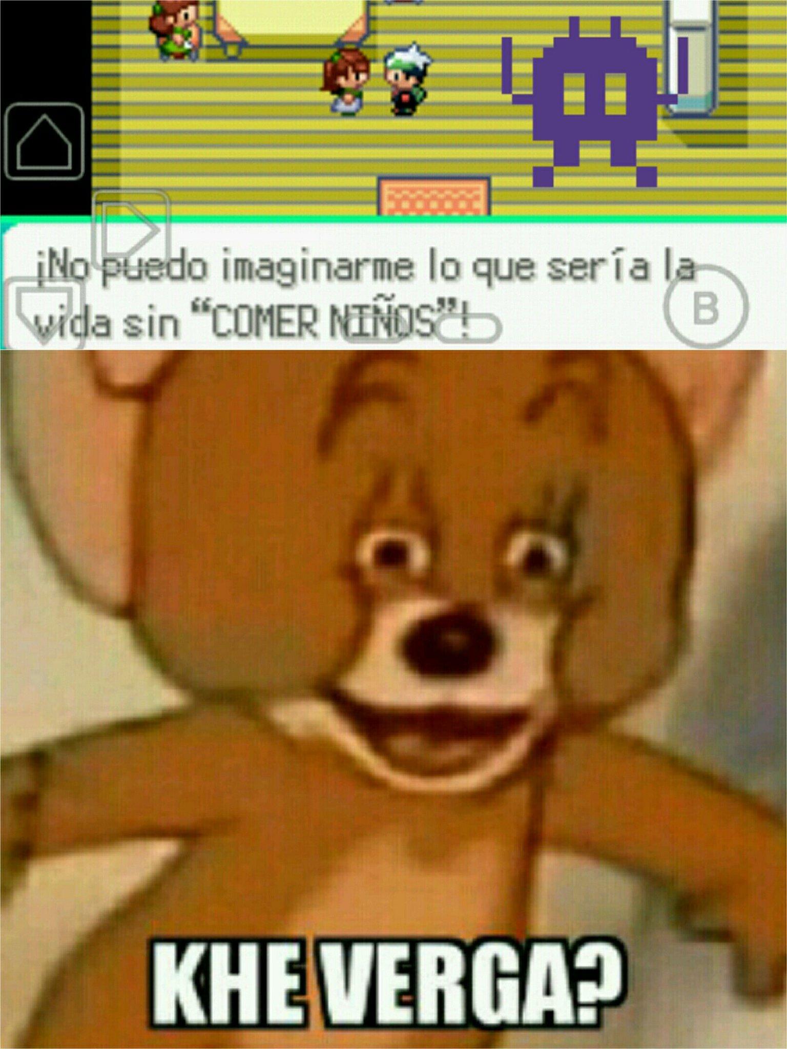 Que berga pokemon - meme
