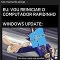 Windows update do c******...