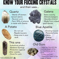 Know your crystals damnit