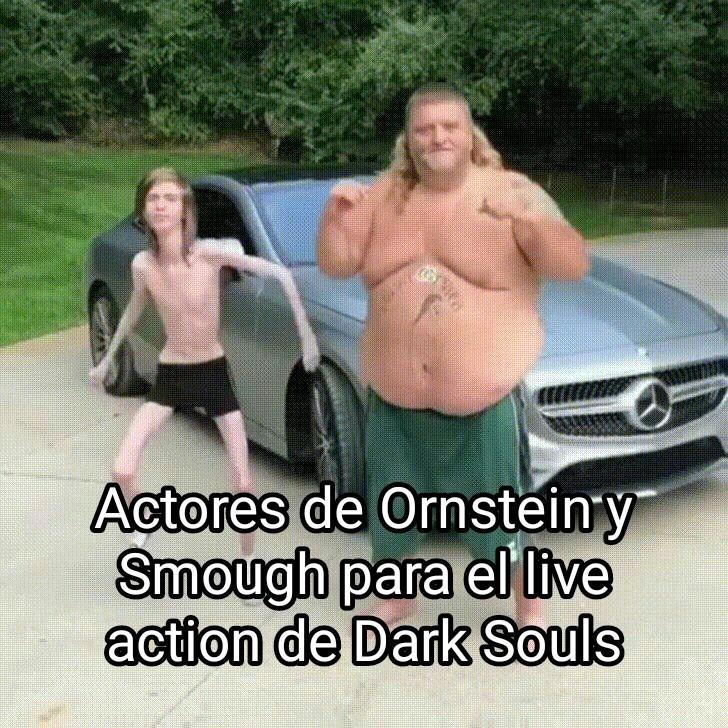 No va a haber un live action de dark souls - meme