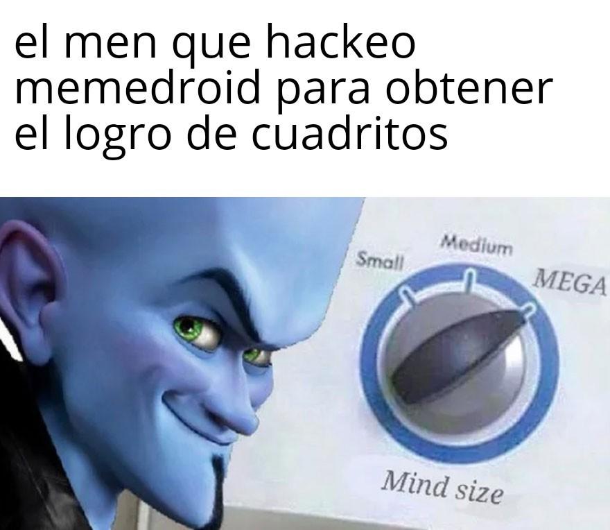 Mind size - meme
