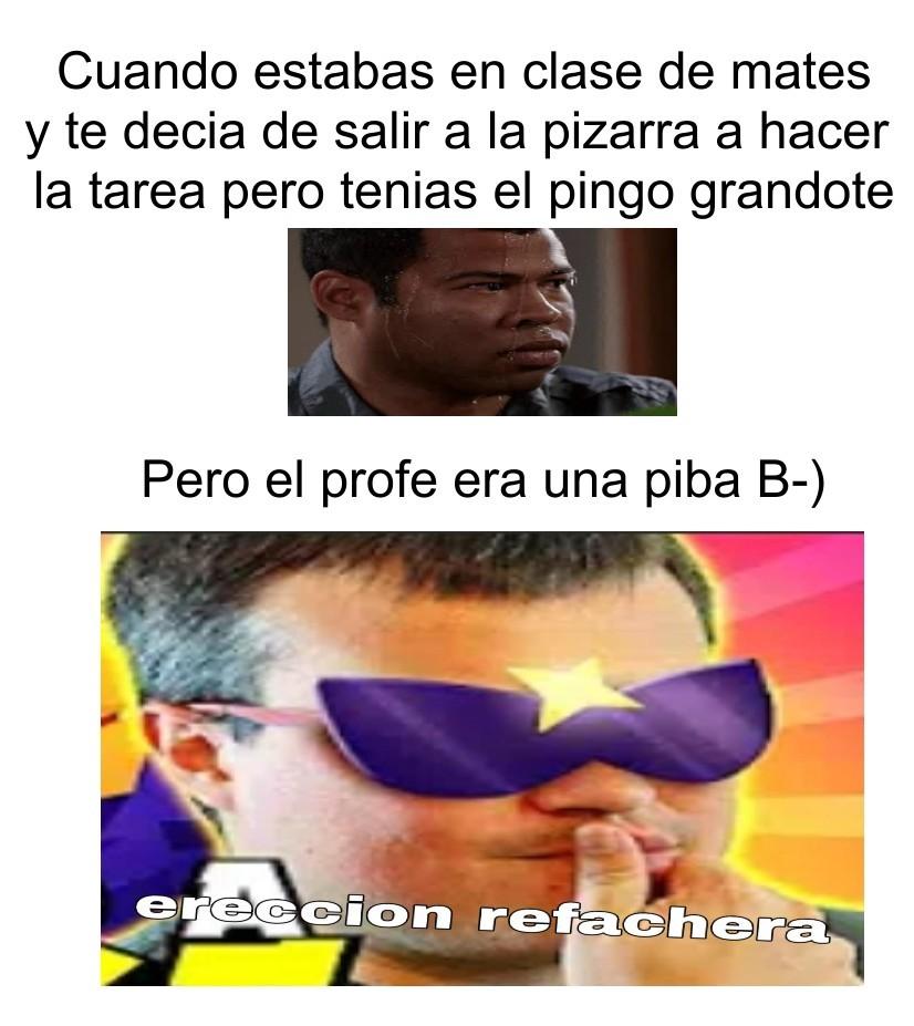 ereccion refachera B-) - meme