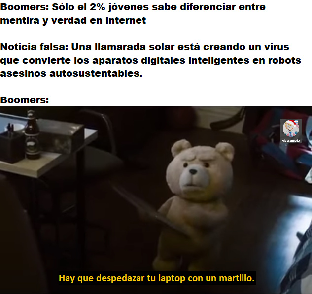 SUPUTA MADRE - meme