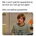 Quarantine, is it over yet?