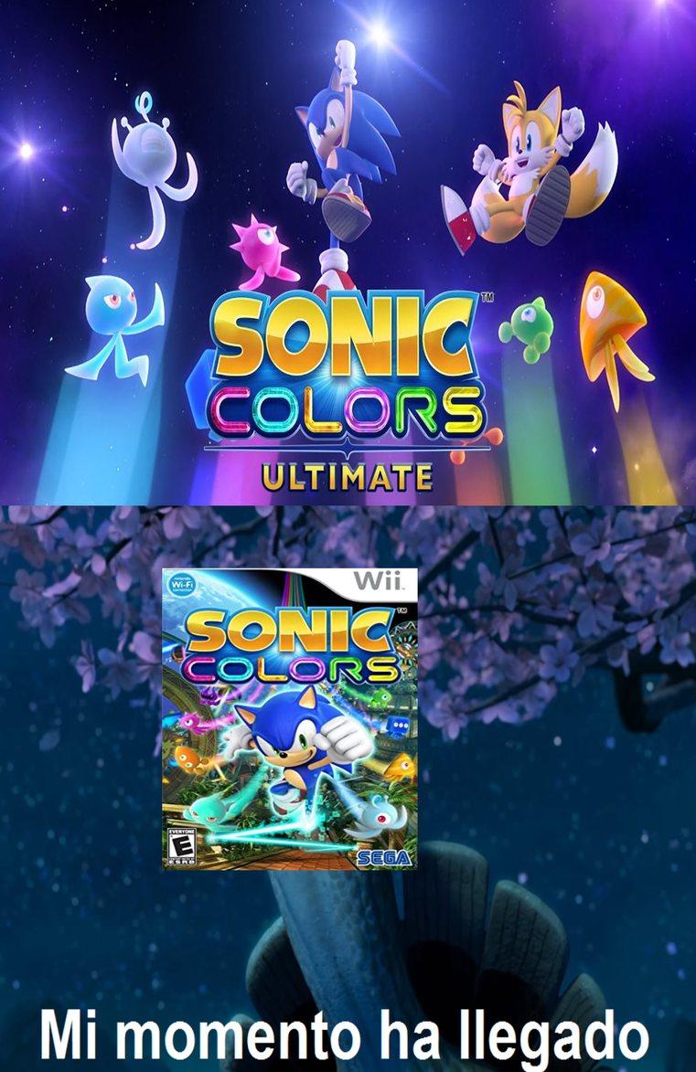 Sonic Colors ya vuelve - meme
