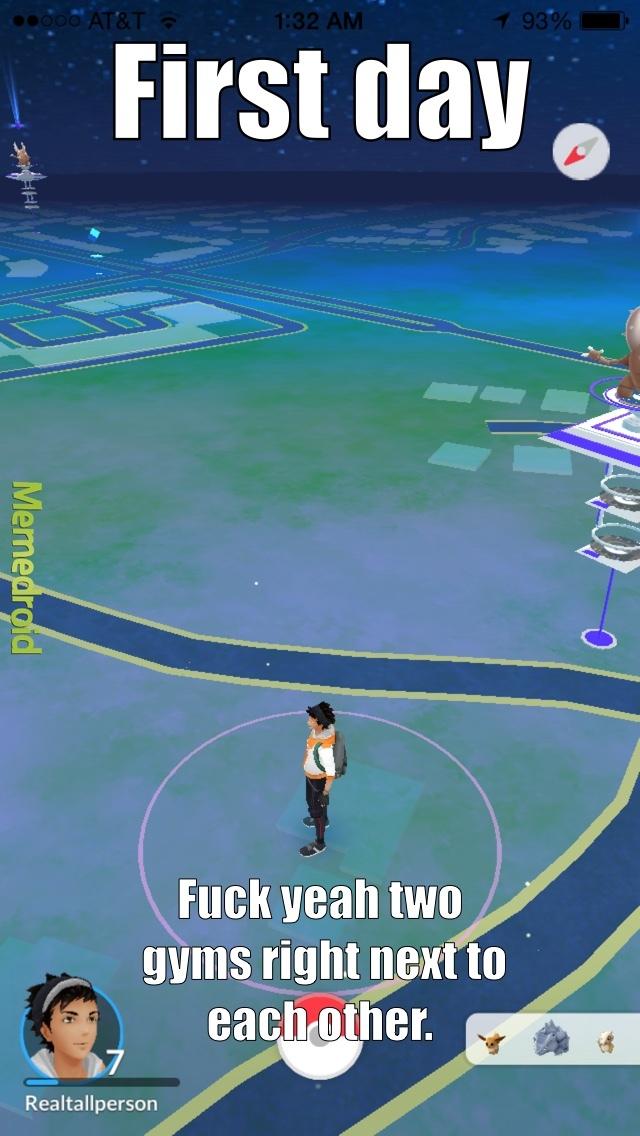 pokemon go is awesome - meme