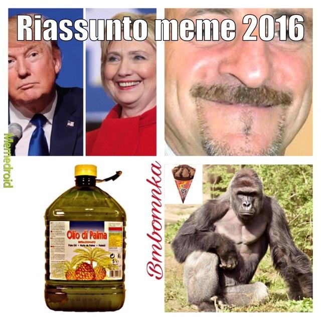 Top memes 2016