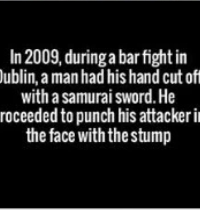 who says that the Irish are not badass - meme