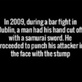 who says that the Irish are not badass