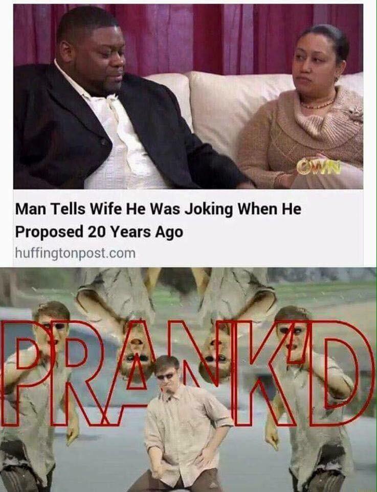it's just a prank bro! - meme