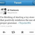 Definetly an original up to date post and ironic now that ToysRUs is dead