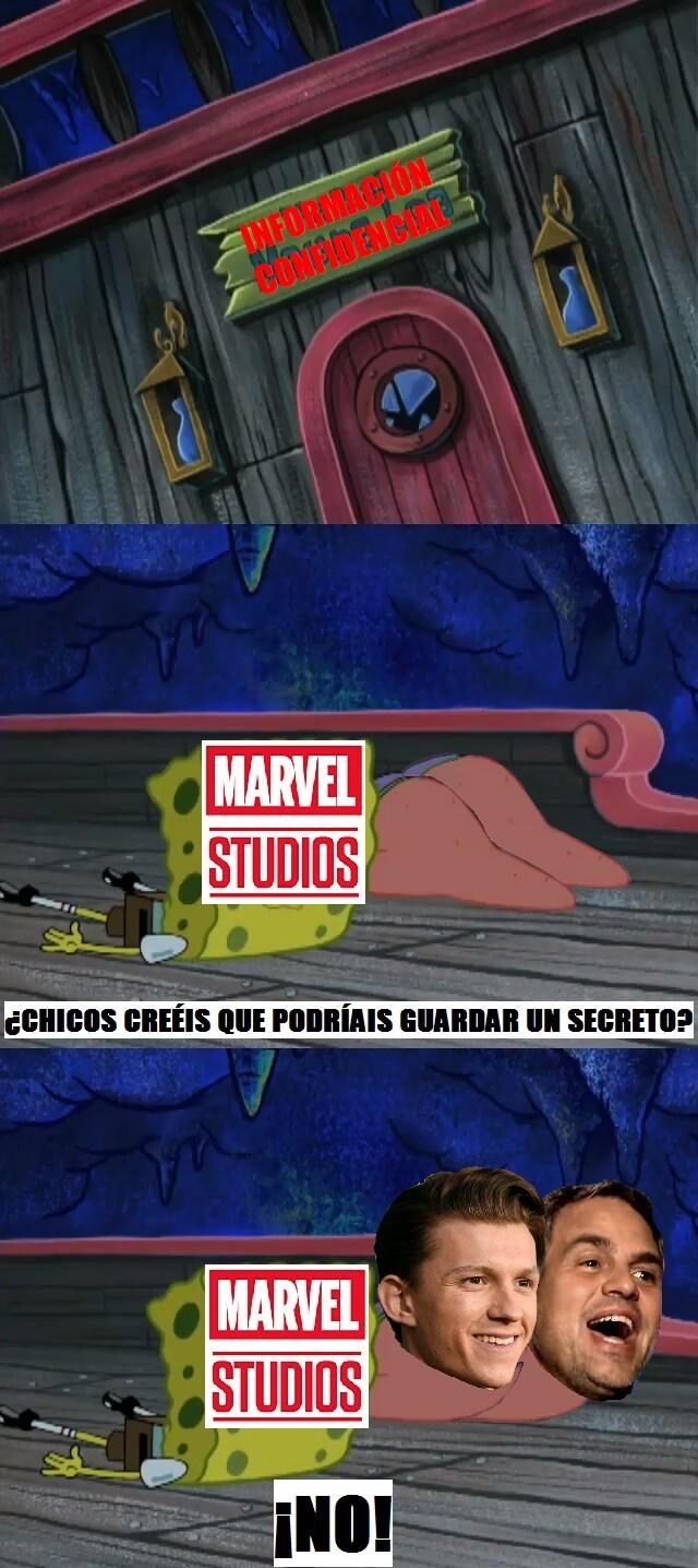 Mark y Tom, los bocazas oficiales de Marvel - meme