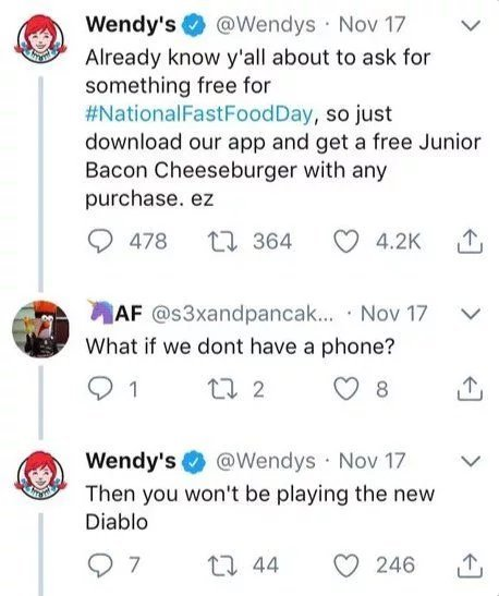 Wendy's at its best - meme