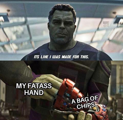 La face cachée de Hulk - meme