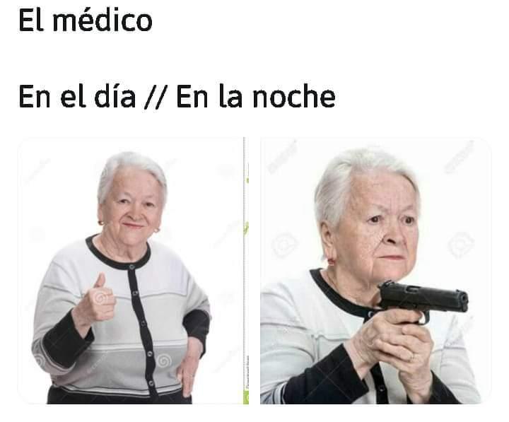 En Colombia un médico mató 3 ladrones que kreisi - meme