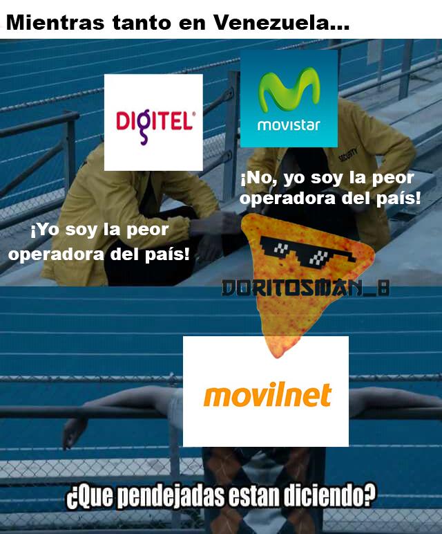 ¡Que viva Venezuela! ¡Y horrible servicio de telefonía móvil! - meme