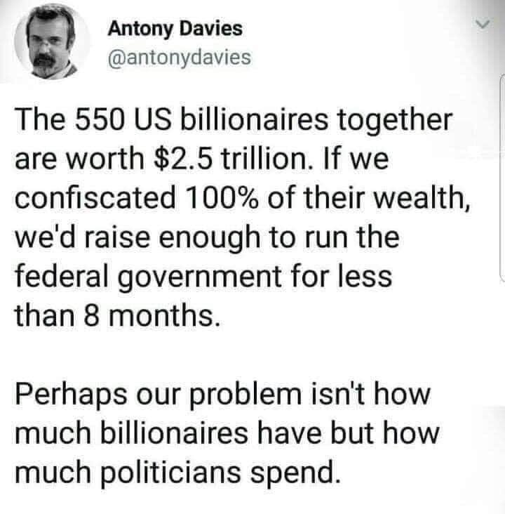 o.o Decrease government spending o.o - meme
