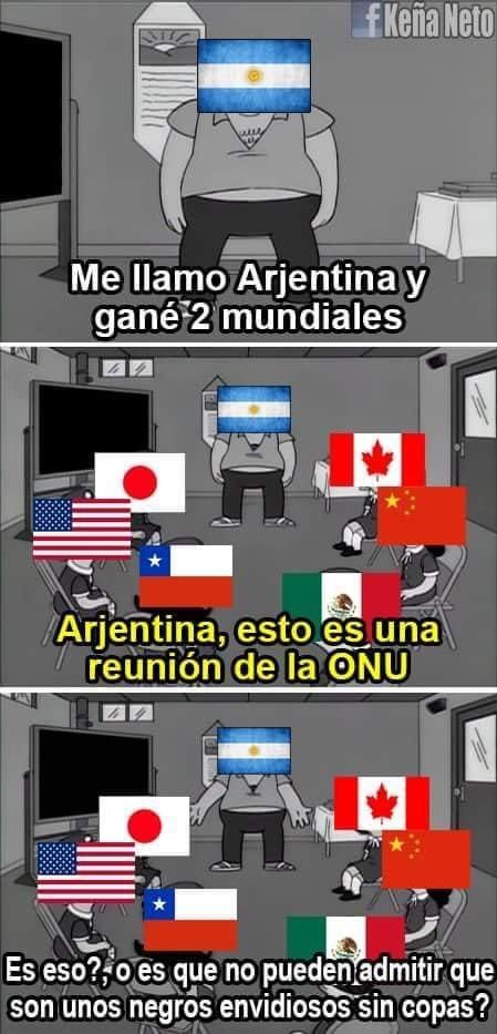 Pero Argentina - meme