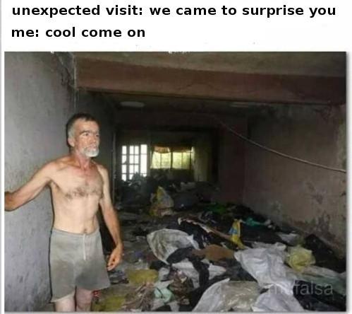 visit - meme