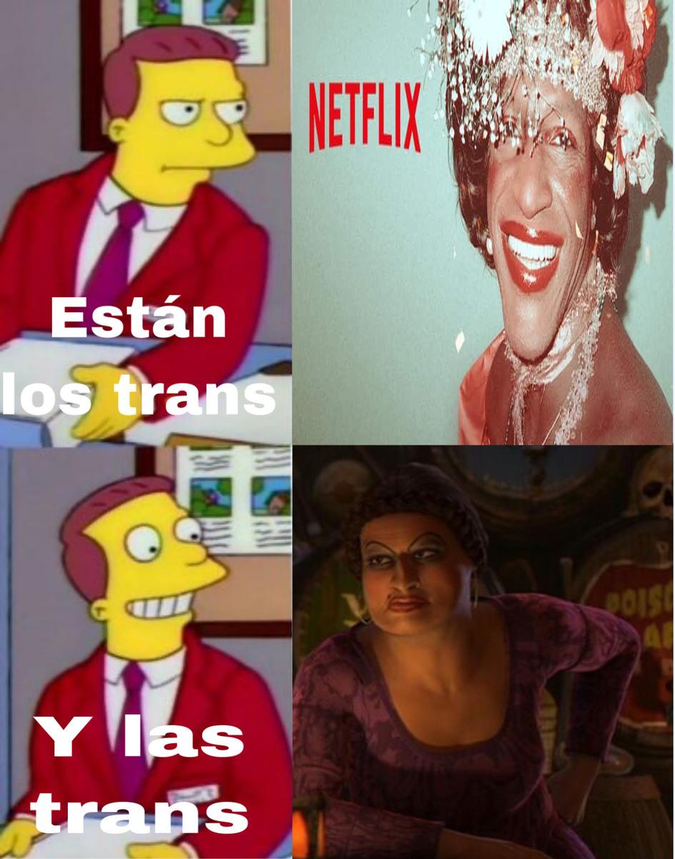 Es una trans respetable. - meme
