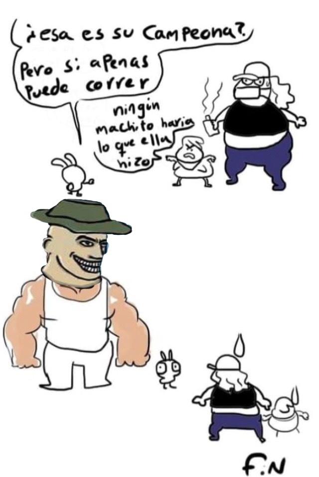 Contexto: Mato a 2 ratas inmundas llamadas fluffys - meme