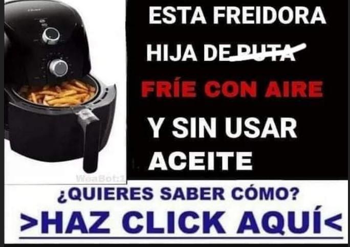 Freidora - meme