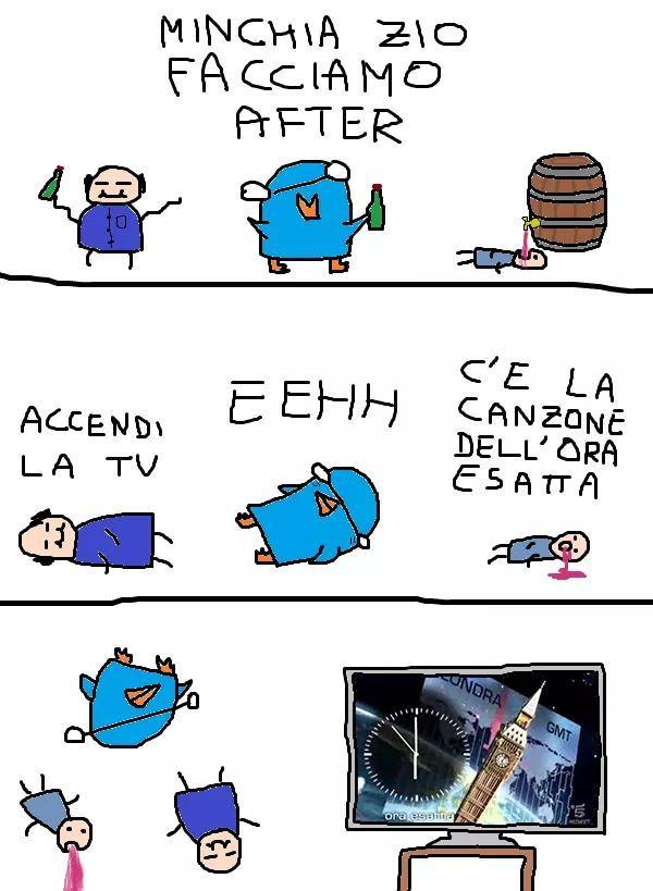 Bon capodannotti - meme