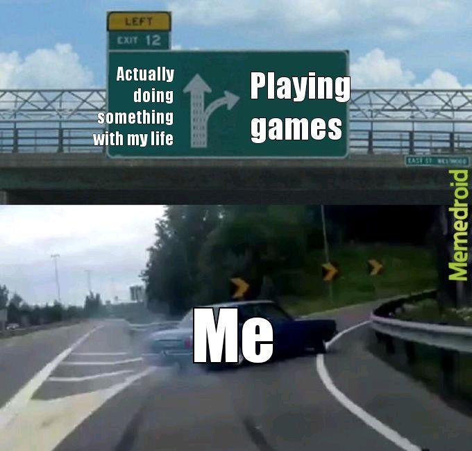 Gotta go fast - Highway Exit Drift - meme