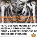 Esqueleto cristiano