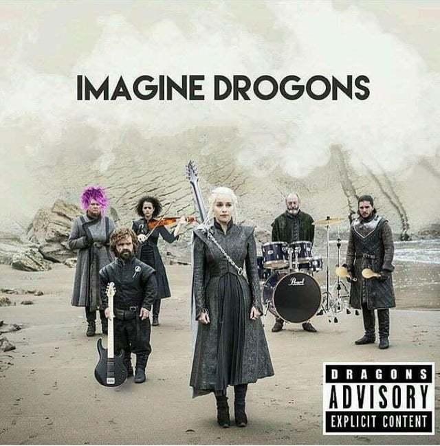Imagine Drogons - meme