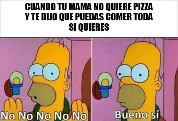 la pizza - meme