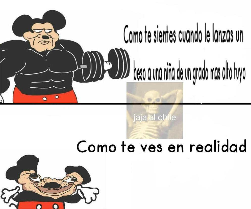 La cruda verdad - meme