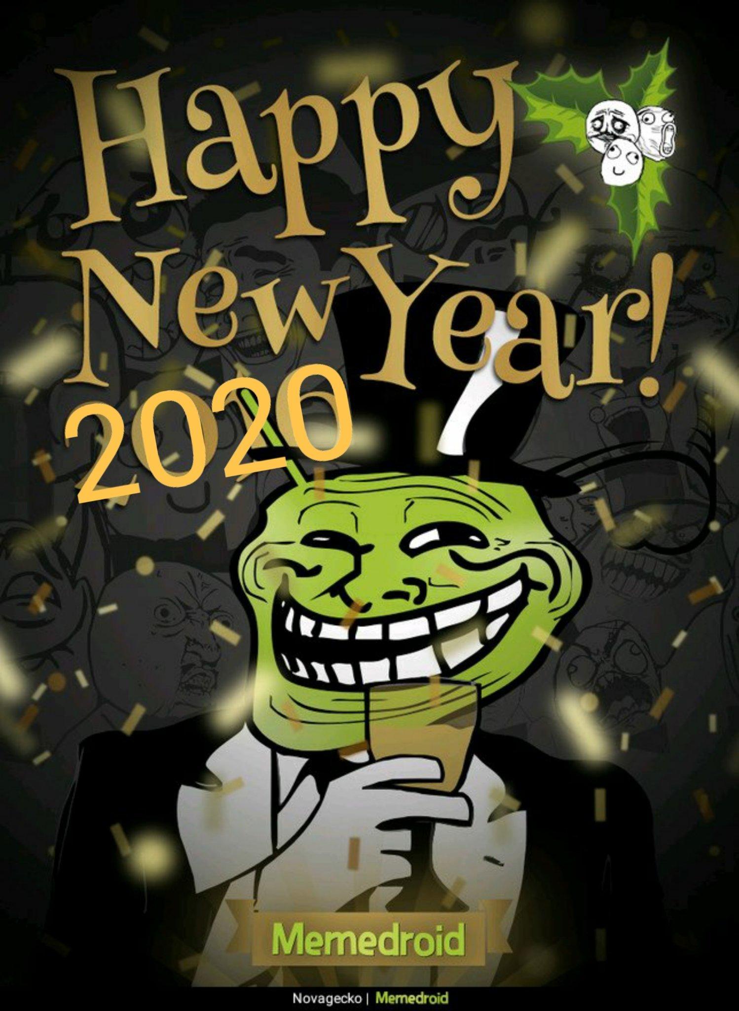 Bonne année memedroid