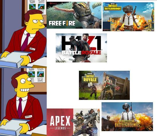 hay battle royale // y battle royale - meme