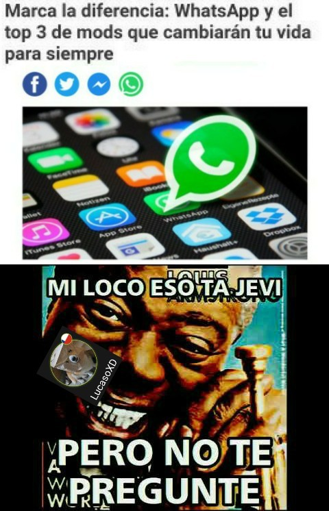 WhatsApp xd - meme