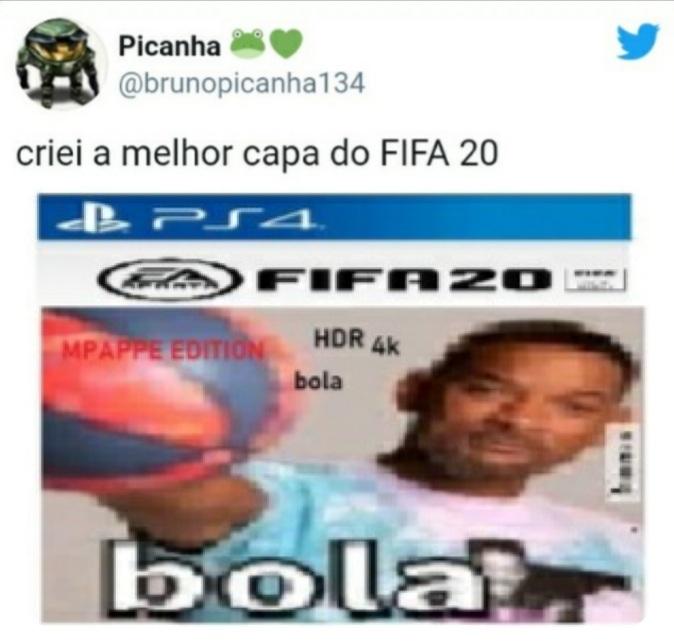 BOLA (Créditos ao Picanha) - meme
