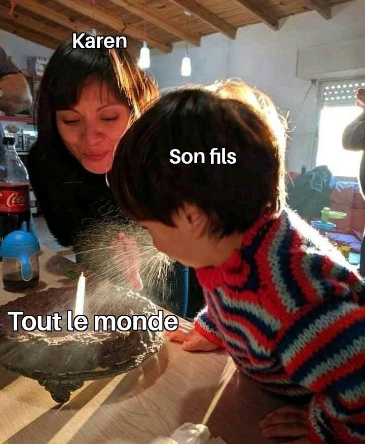 SAL*** DE KAREN - meme