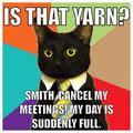 is that...yarn???