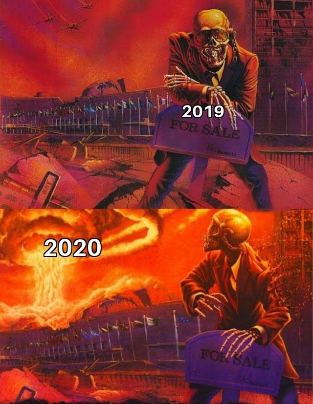 Hmm quand on pensait que 2020 ne pouvait pas être pire que 2019... quelle naïveté - meme
