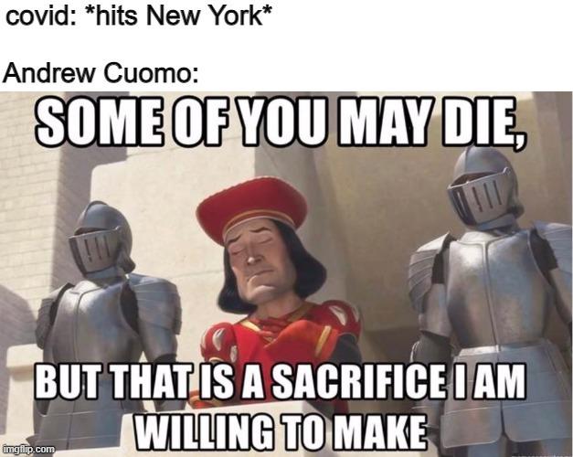 If they die they die in nursing homes - meme