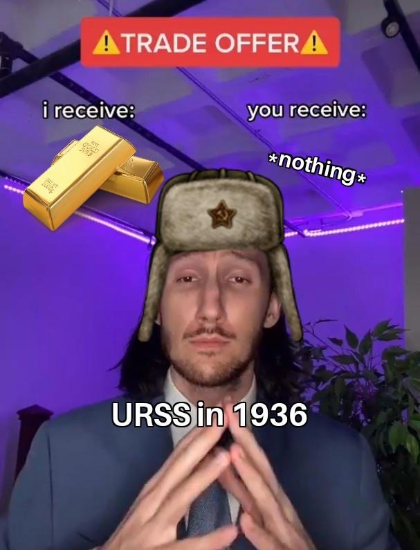 Malditos rojos, regalaron nuestro oro :sadtroll: - meme
