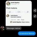Post-ing Malone