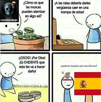 colonizacion de america - meme