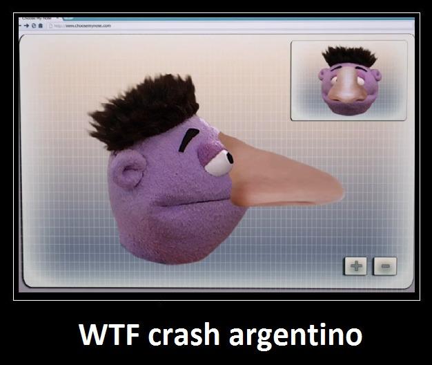 crash argentino - meme