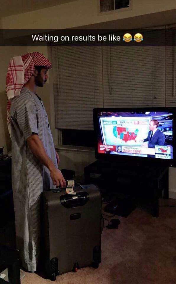 We arabs right now - meme