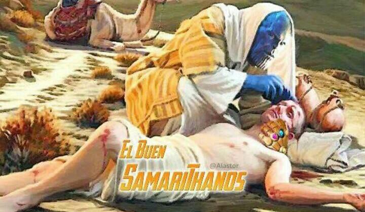 SamariThanos - meme