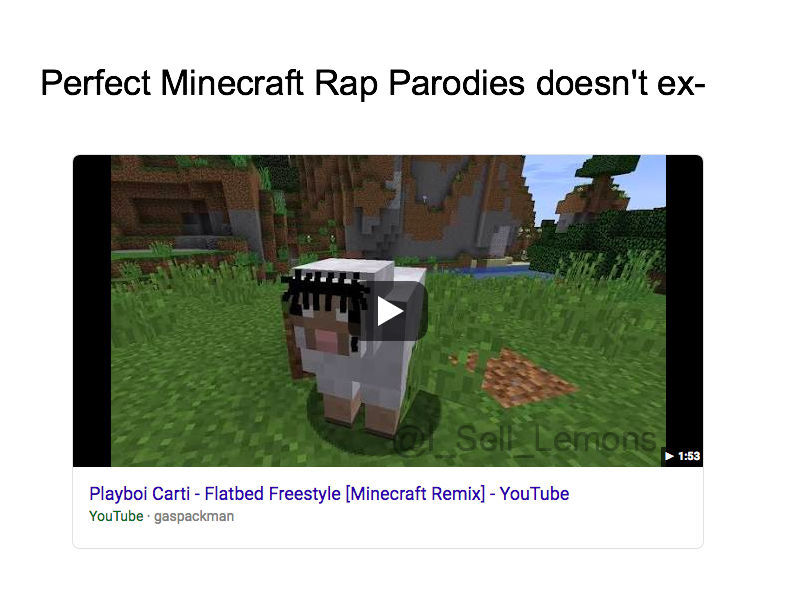 [OC] Early Minecraft meme